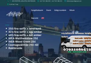 londoni költöztető